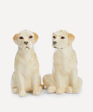 Golden Labrador Salt and Pepper Shakers
