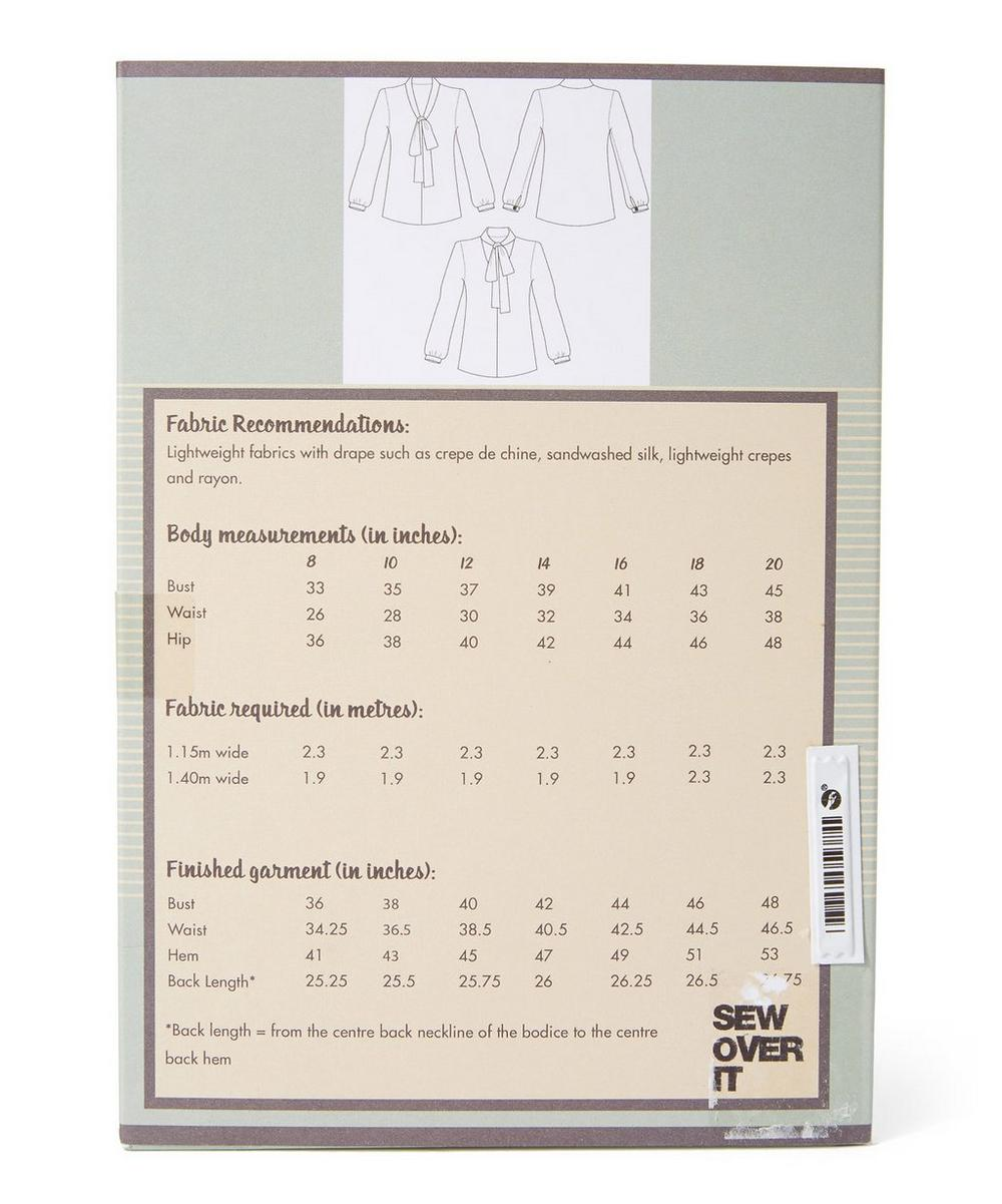 Pussy Bow Blouse Pattern Sewing Kit