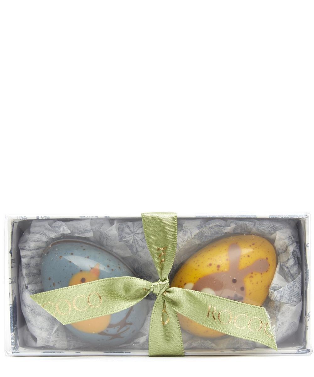 Hand Painted Milk Chocolate Eggs
