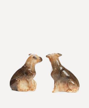 Border Terrier Stoneware Salt and Pepper Shakers