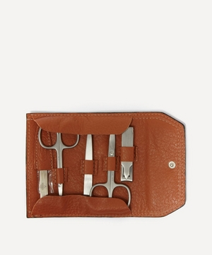 Super Soft Manicure Set in Tobacco