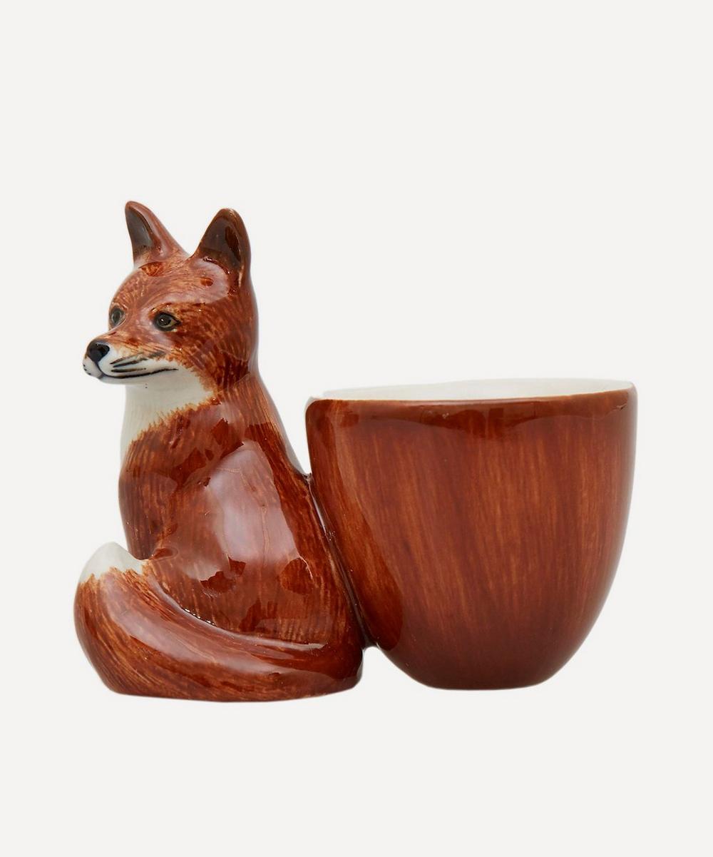 Quail - Fox Egg Cup