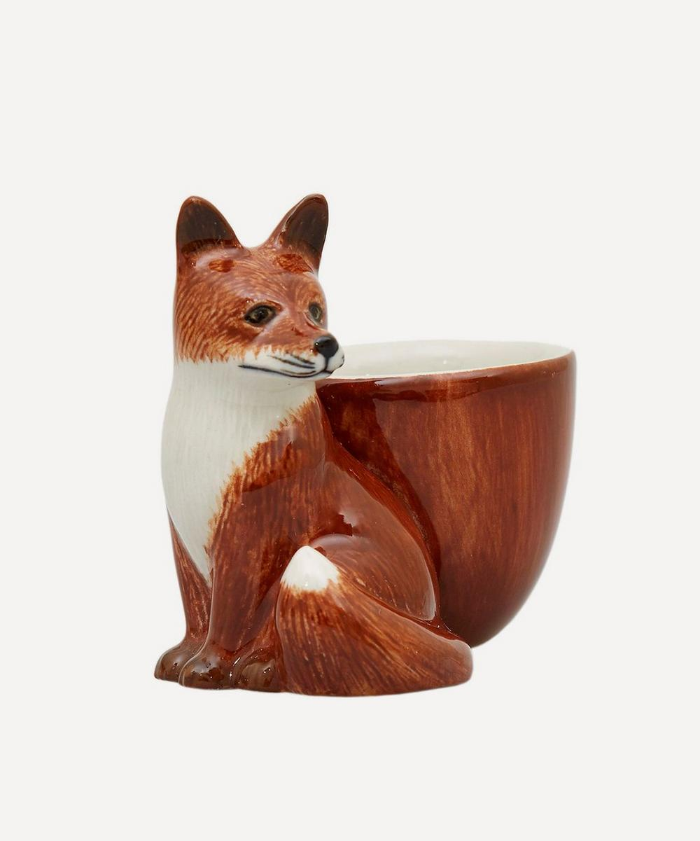 Fox Earthenware Egg Cup