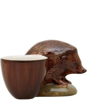 Hedgehog Stoneware Egg Cup