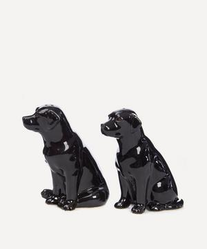 Black Labrador Salt And Pepper Shakers