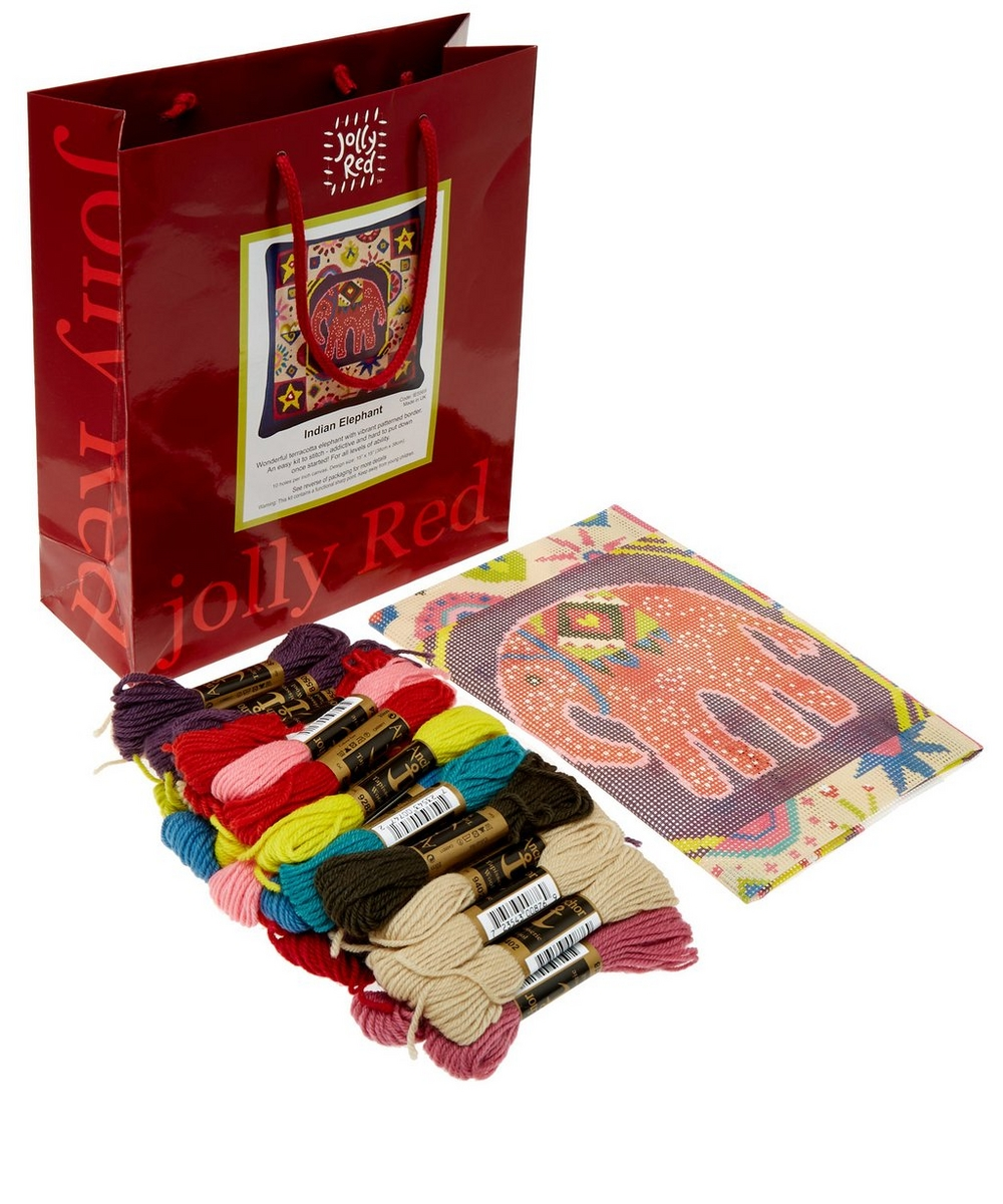 Indian Elephant Tapestry Kit