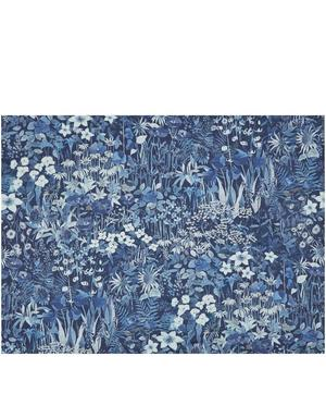 Water Garden Faria Flowers Cotton Satin