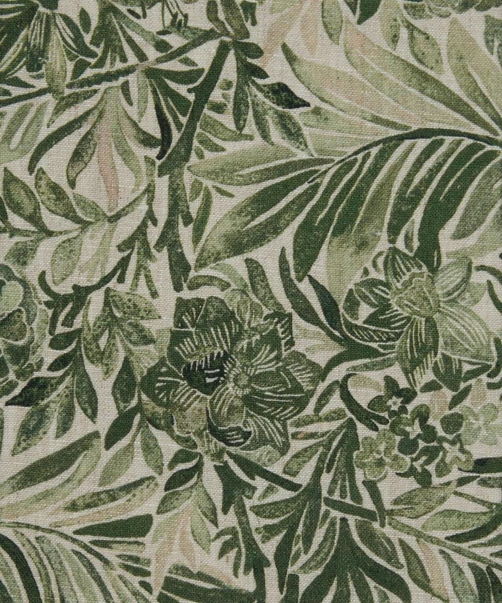 Wallace Secret Garden Linen in Green Gauze