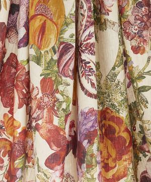 Jeffery Rose Tree Linen in Robin