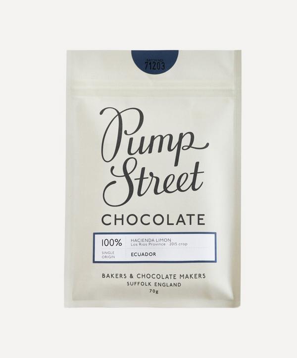 Pump Street Bakery - Ecuador 100% Hacienda Limon Dark Chocolate Bar 70g