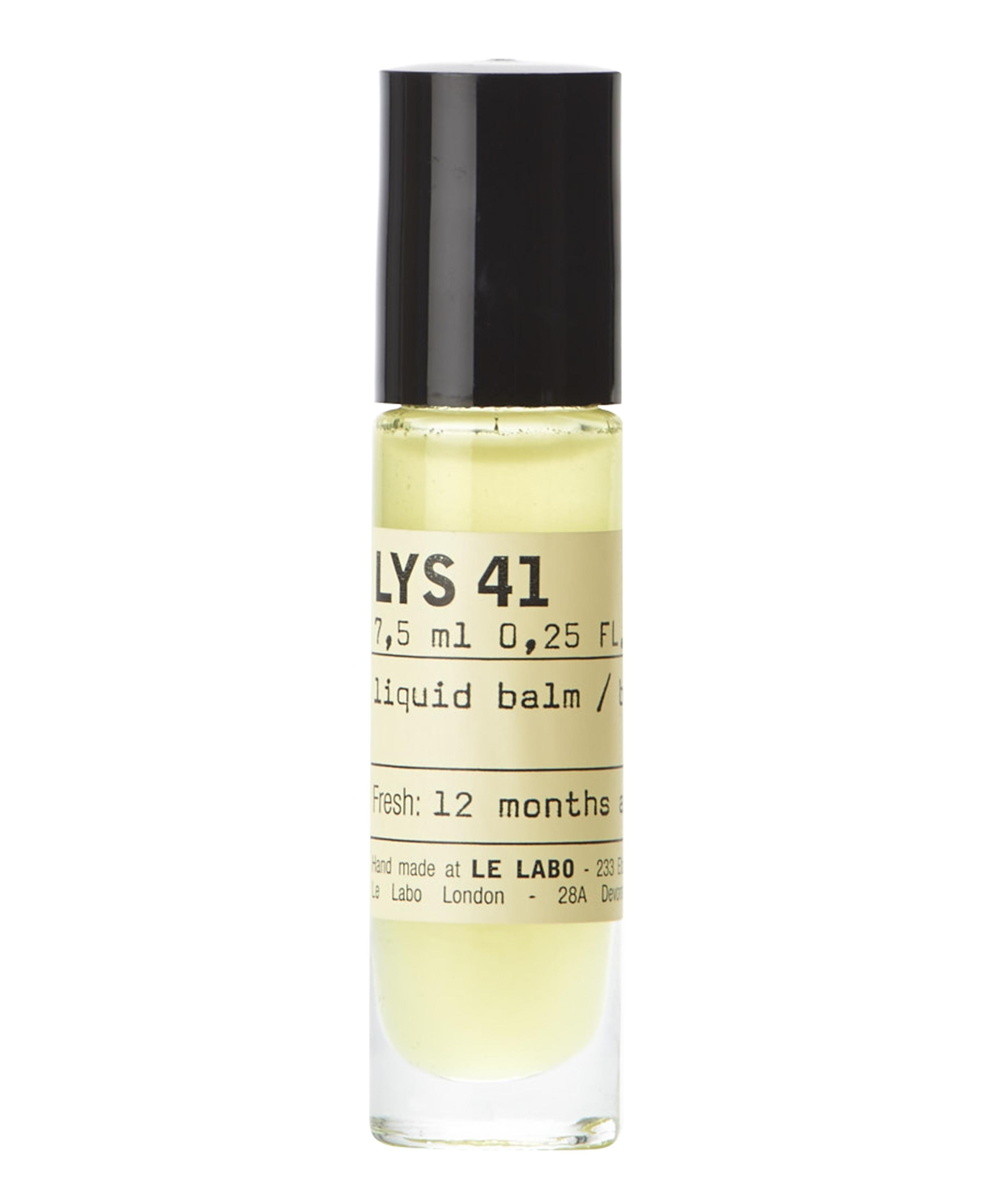 Perfume oil: Label scents: 41 Lys By