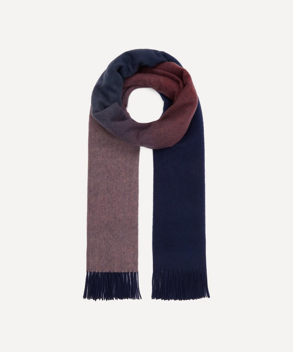 Johnstons of Elgin - Checked Woven Cashmere Scarf