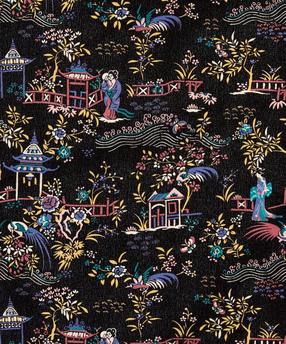 Poeny Pavillion Torrington Silk Crepe de Chine