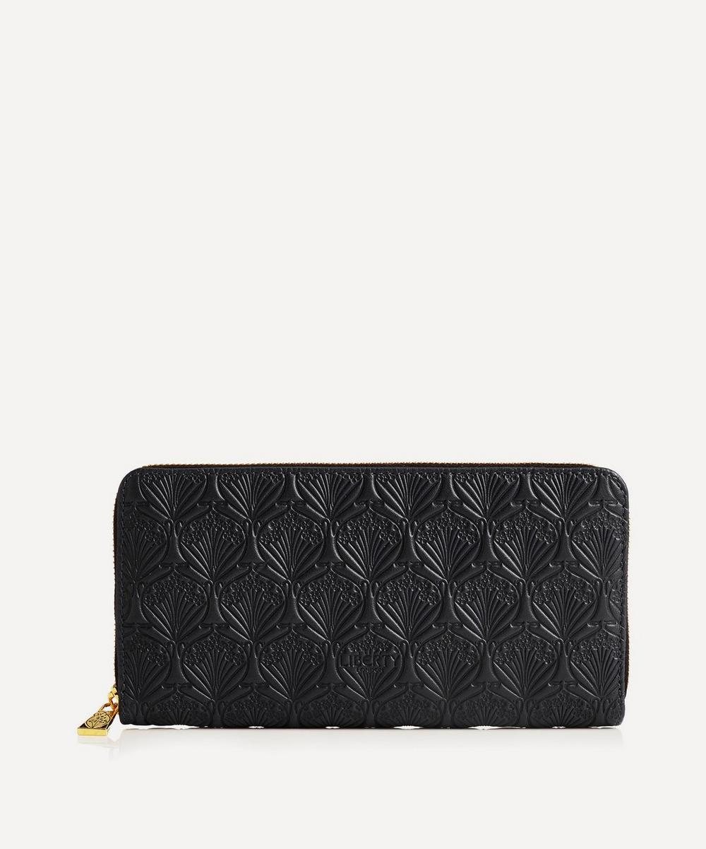 Liberty - Large Zip Around Wallet in Iphis Embossed Leather