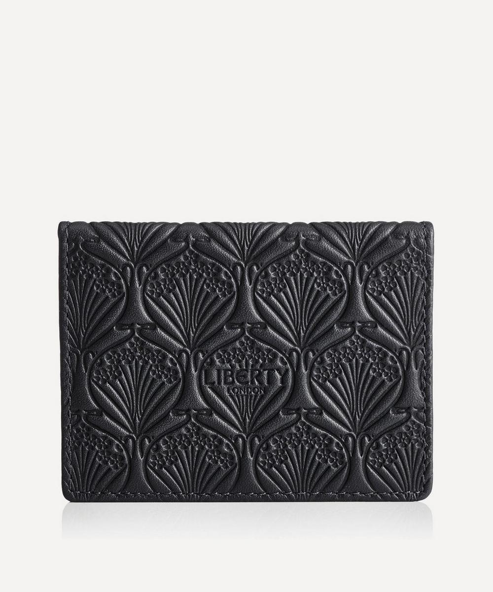 Liberty - Travel Card Holder in Iphis Embossed Leather
