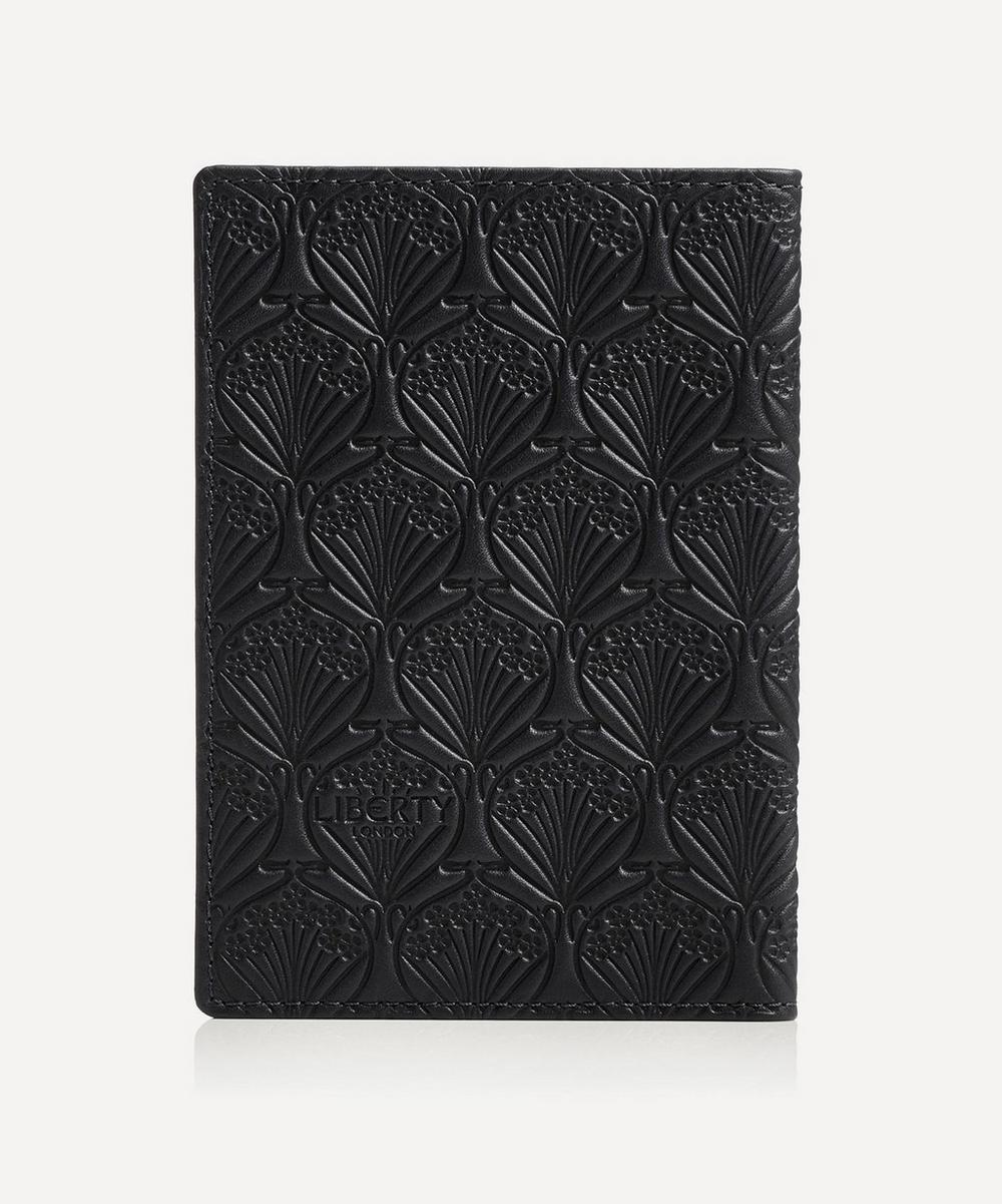Passport Cover in Iphis Embossed Leather