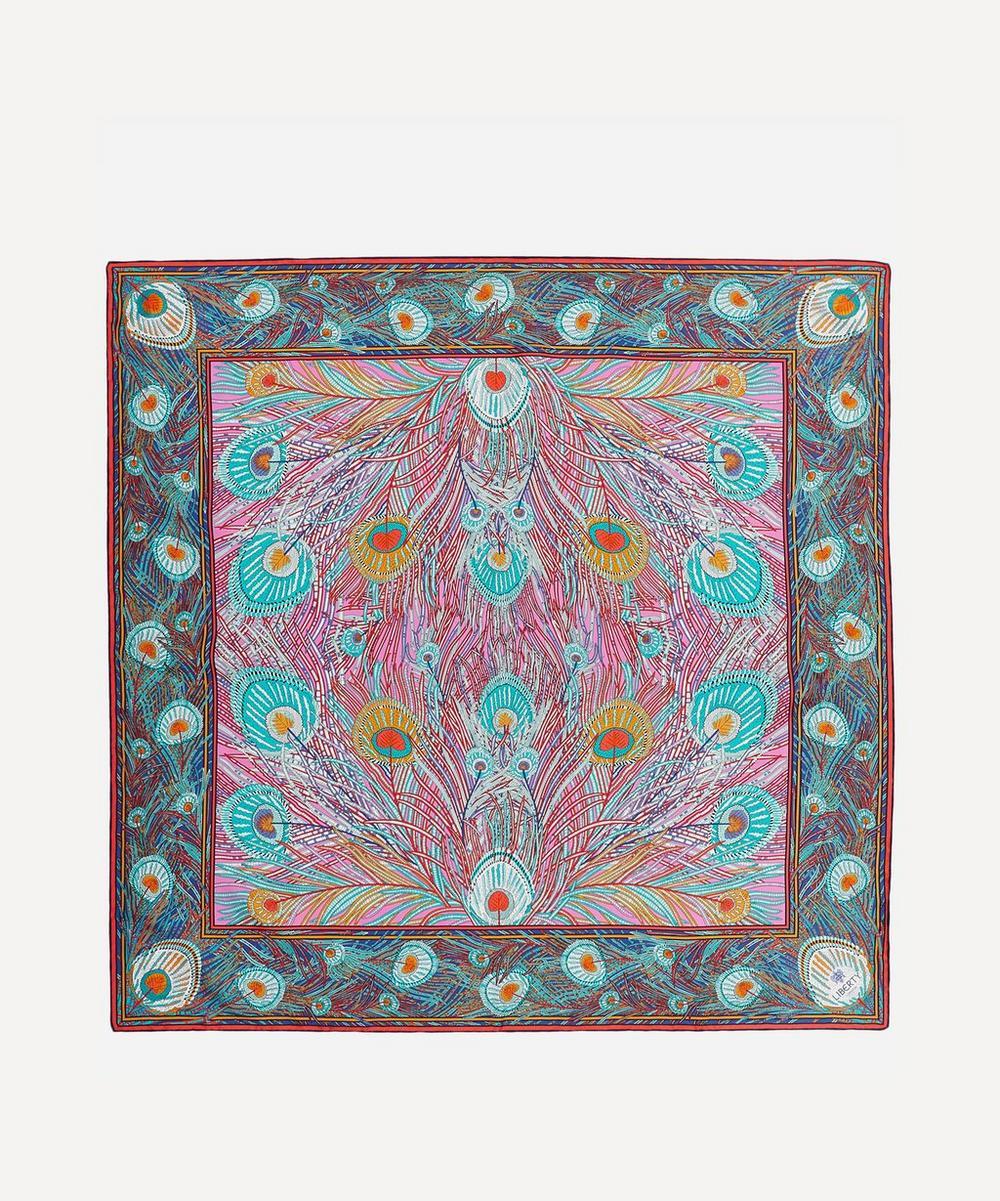 b55de2c112dc4 LIBERTY LONDON Hera 90 X 90 Silk Twill Scarf, Pink | ModeSens