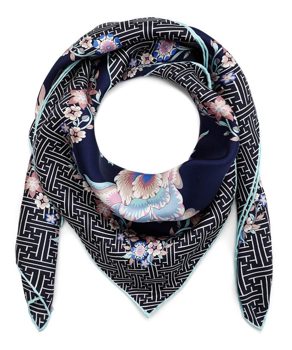 Christelle 90 x 90 Silk Twill Scarf