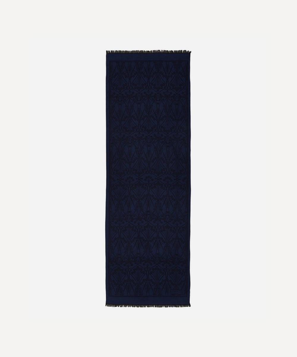 Liberty - Ianthe 70 x 200 Jacquard Wool Blend Scarf
