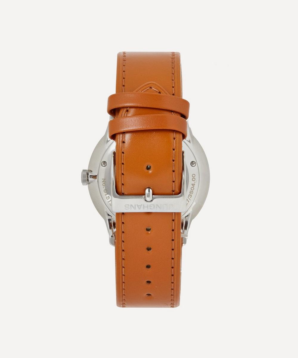 Meister Chronoscope Leather Strap Watch