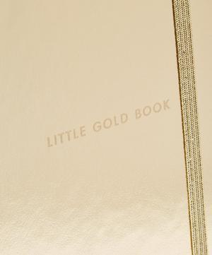Medium Little Gold Book Notebook