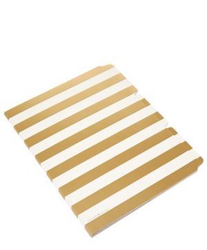 Stripe Folder Set