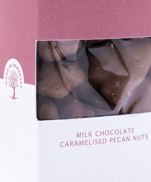 Chocolate Covered Caramelised Pecan Nuts 110g