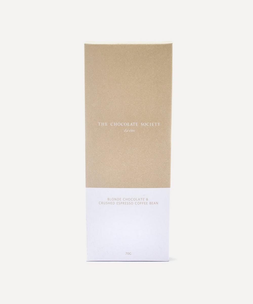 Blonde Chocolate with Coffee Bar 70g