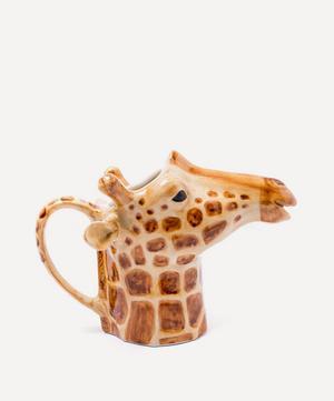 Giraffe Stoneware Jug