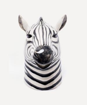 Zebra Stoneware Jug