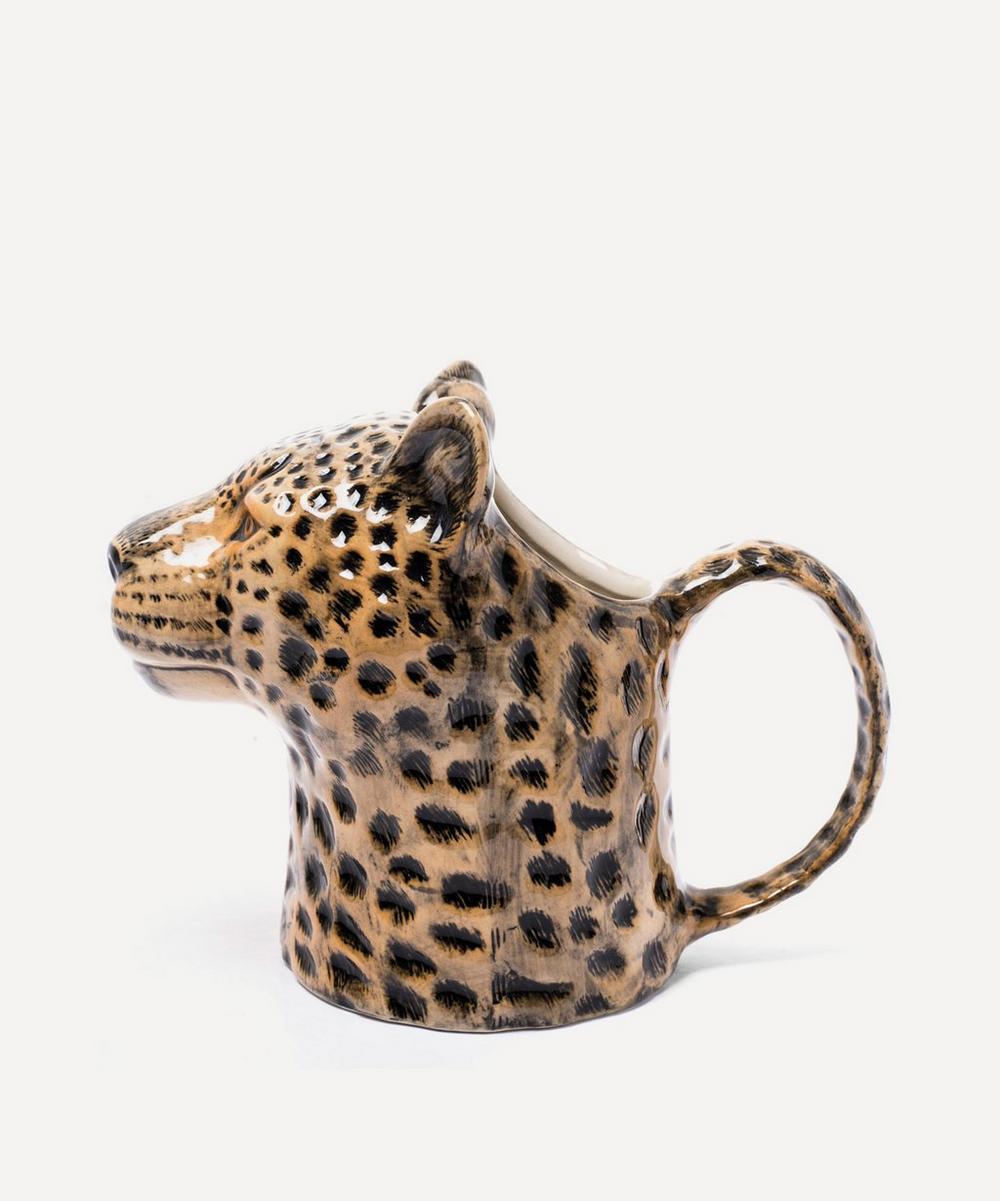 Leopard Stoneware Jug