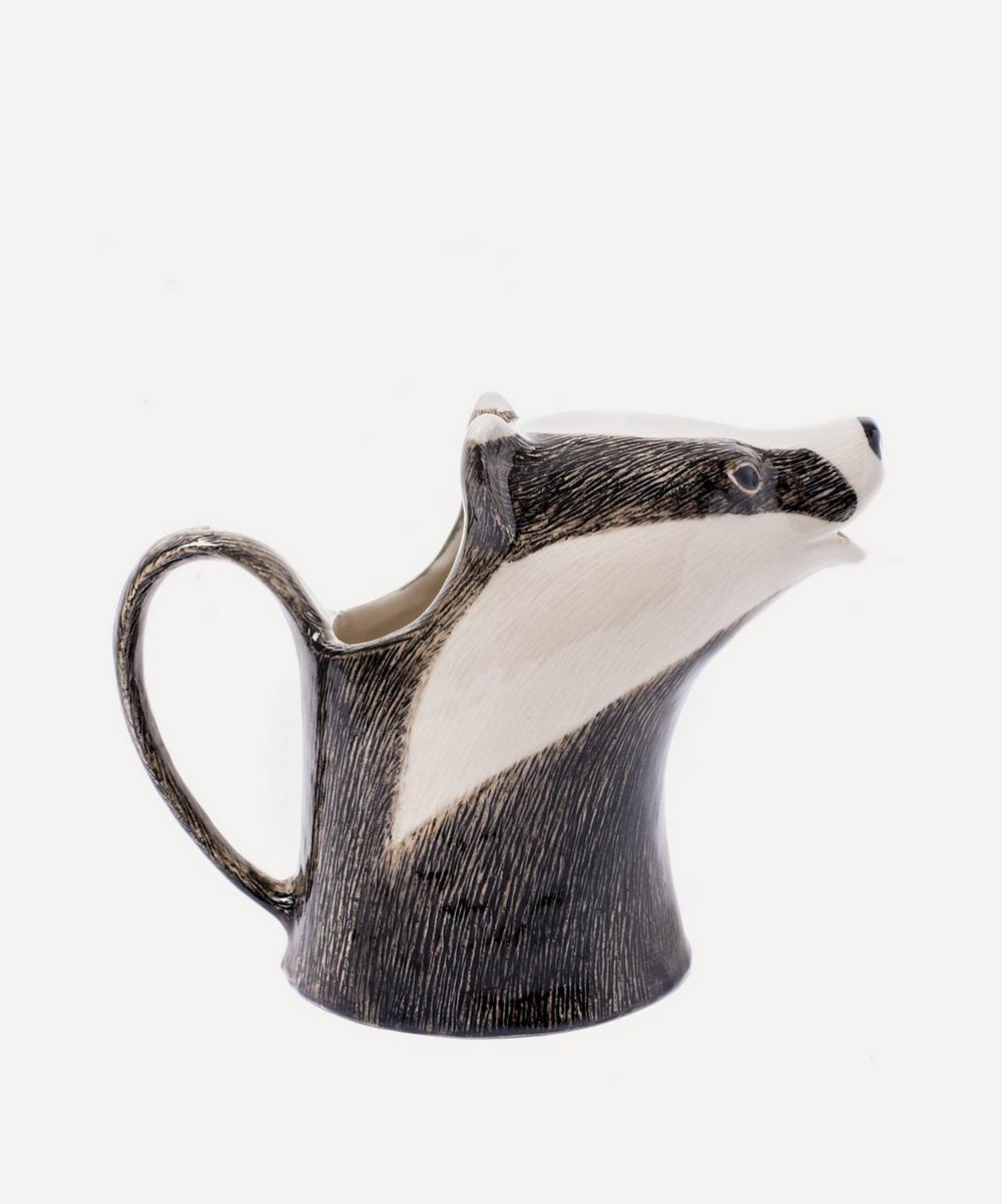 Badger Stoneware Jug