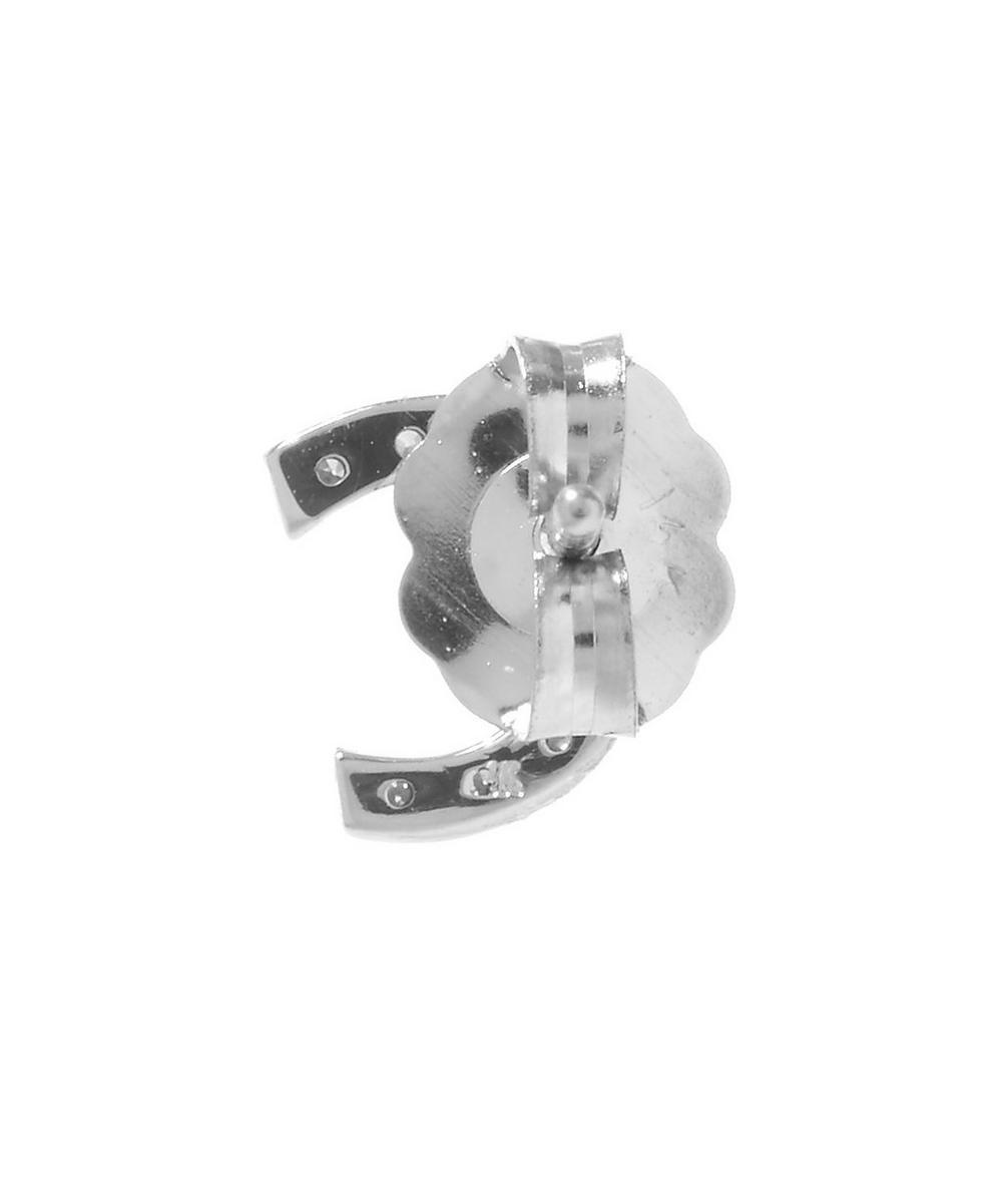 Rose Gold Diamond C Single Stud Earring