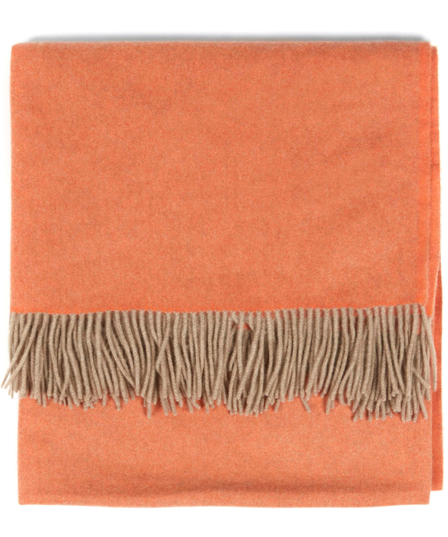 uno tassel cashmere throw - Cashmere Blanket