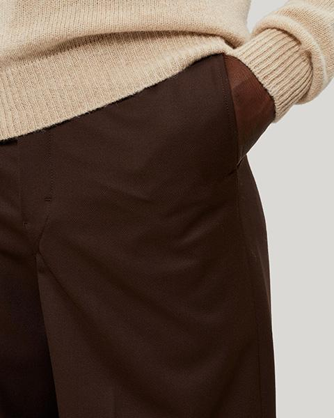 Lemaire Wide-Leg Wool Trousers