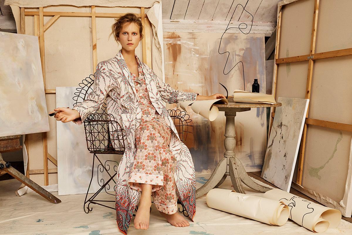 Leonora Tana Lawn Cotton Robe