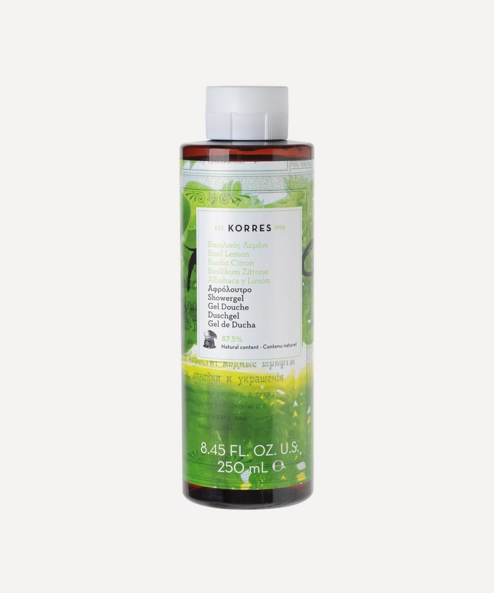 Basil Lemon Shower Gel 250ml