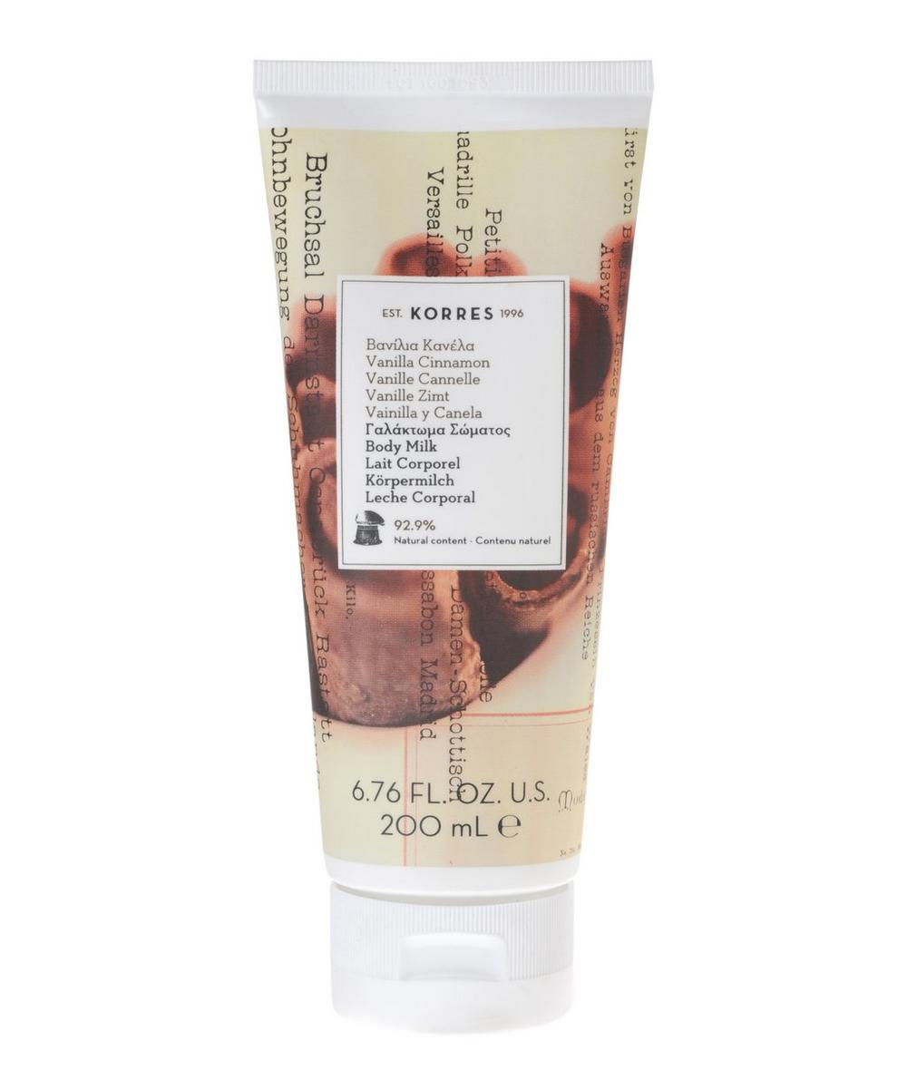 Vanilla Cinnamon Body Milk 200ml