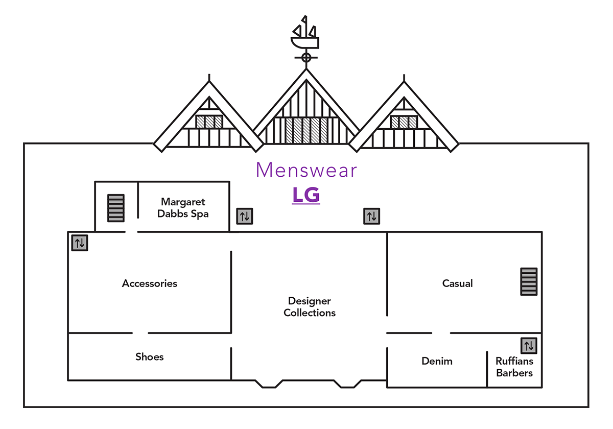Menswear Launch Map