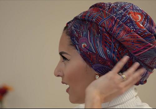 Scarf Styling: Turban Tutorial with Dina Tokio