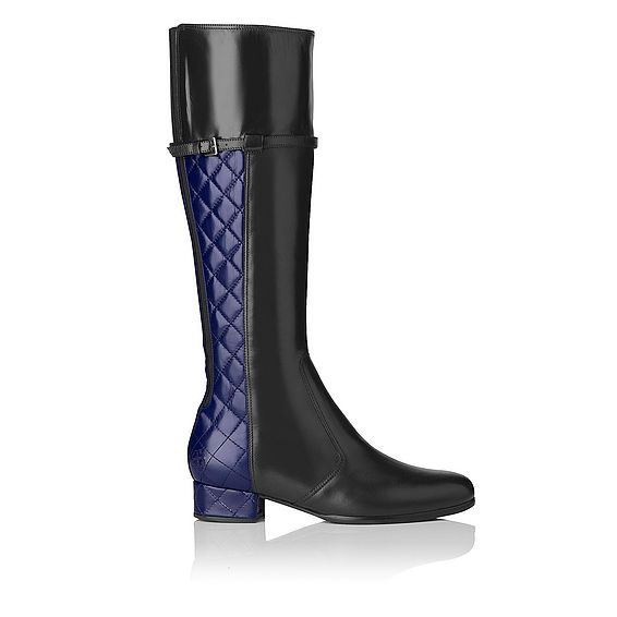 Donna Knee High Quilted Boot