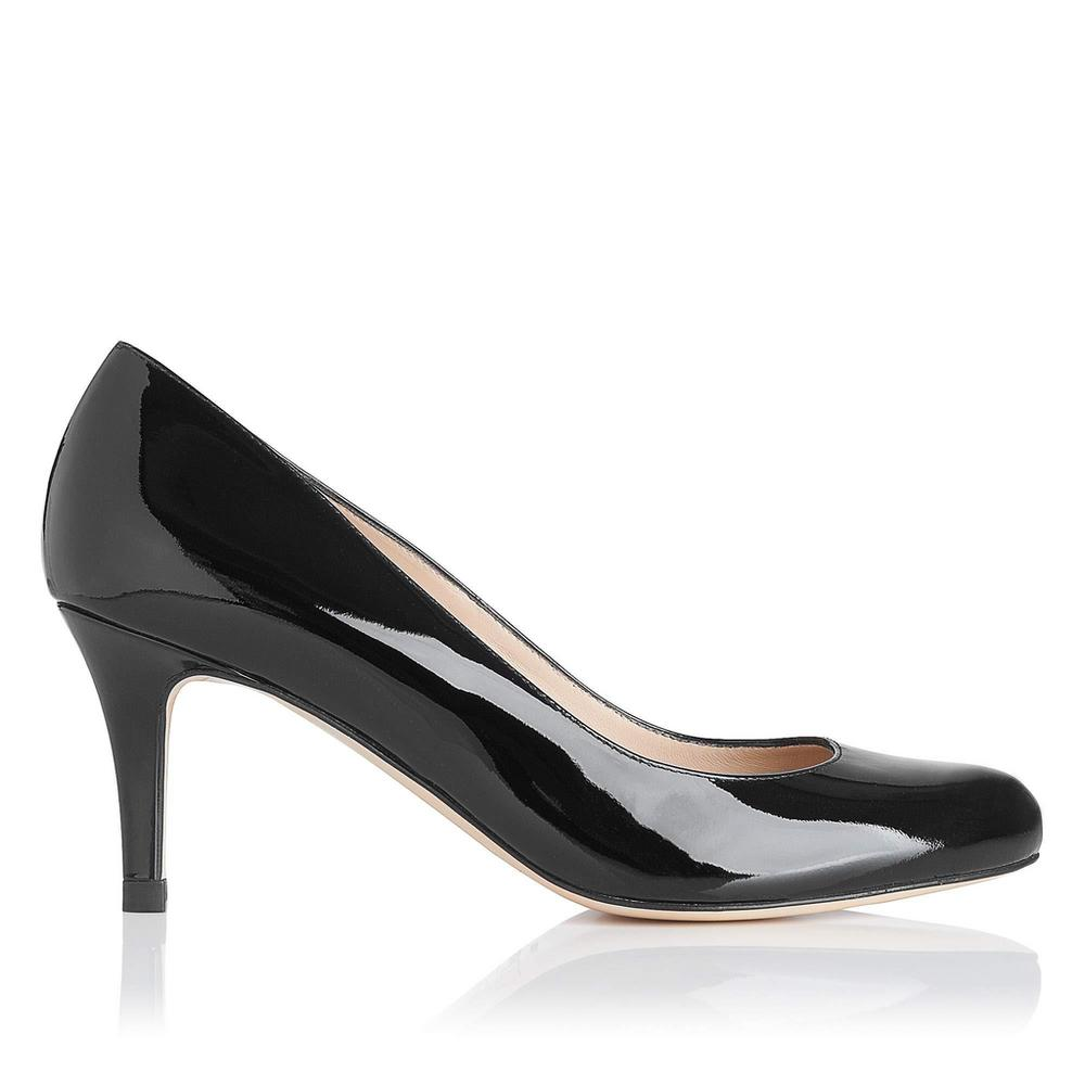 L.K. Bennett Patent Leather Round-Toe Pumps
