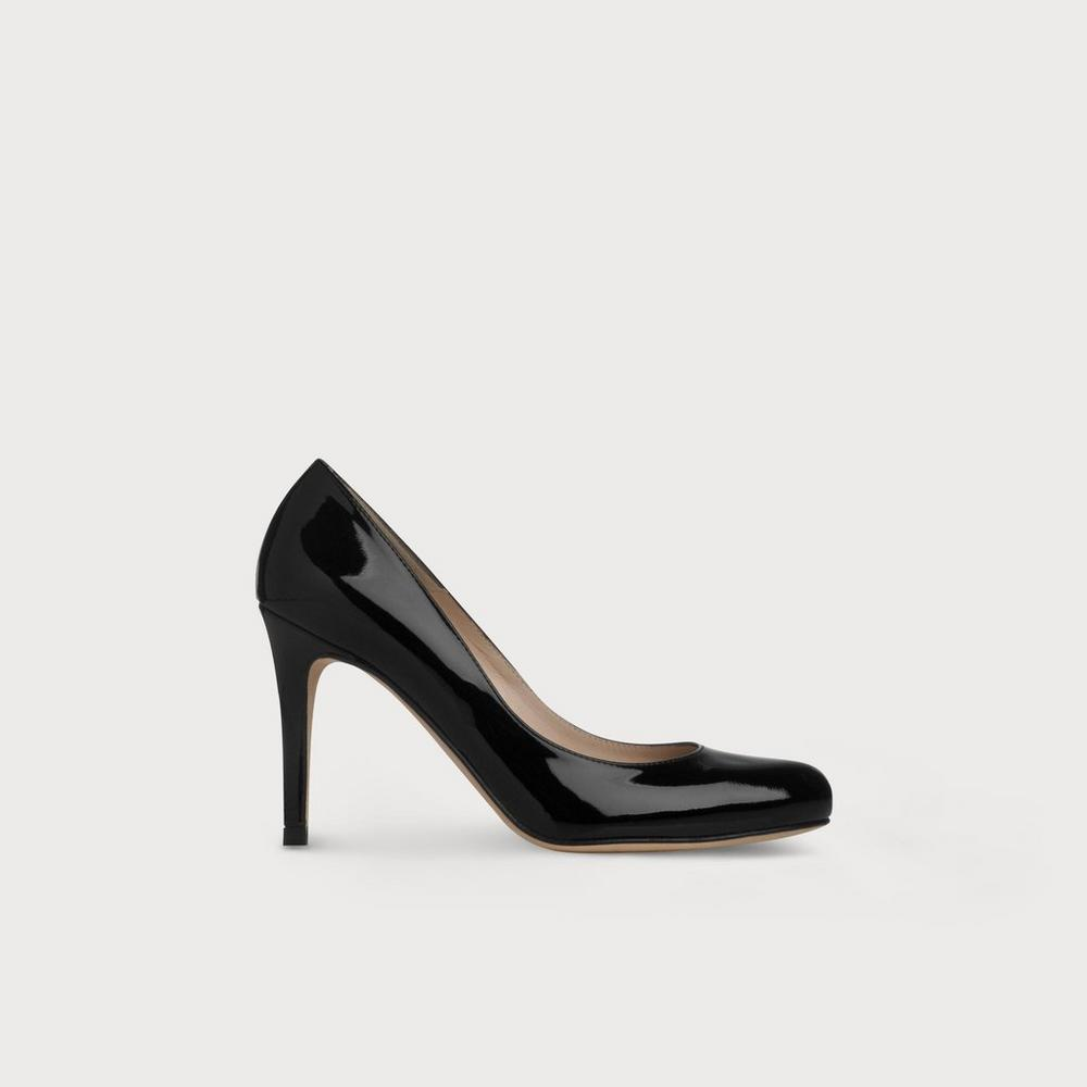 LK BENNETT Stila patent-leather courts Black - M5748