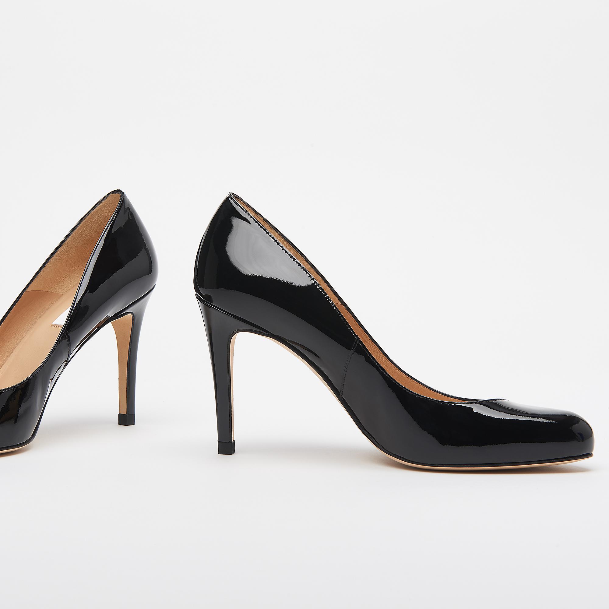 e87a705c6a7 Stila Black Patent Court Shoes   Shoes   L.K.Bennett