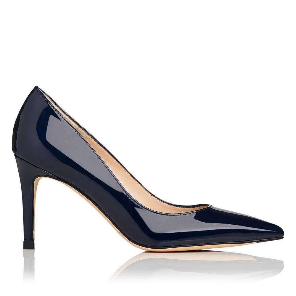 L.K. Bennett Floret Patent Court Shoes