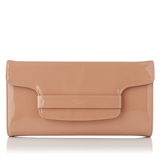 Laura Patent Clutch