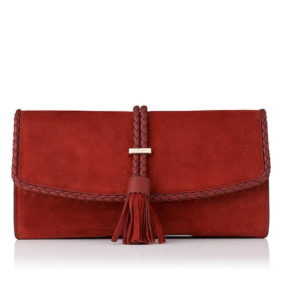 Tracy Leather Clutch