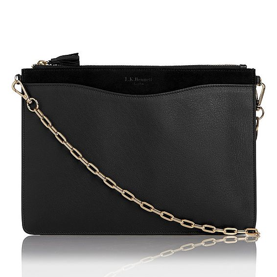 Rachel Suede Leather Pouch