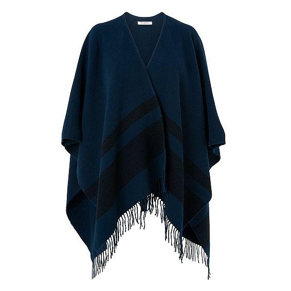 Claren Evergreen Wool Cashmere Scarf