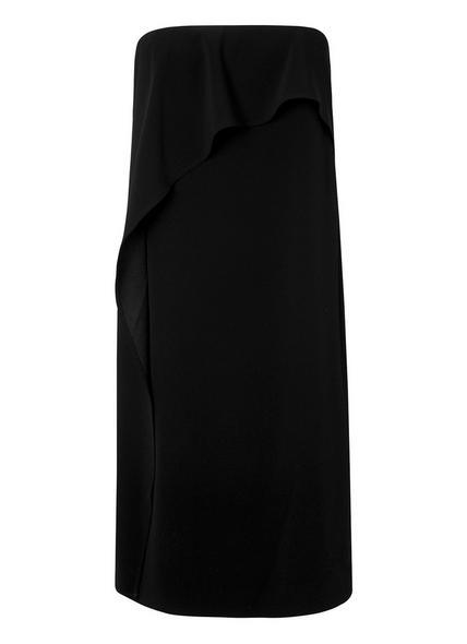 Delia Strapless Black Dress